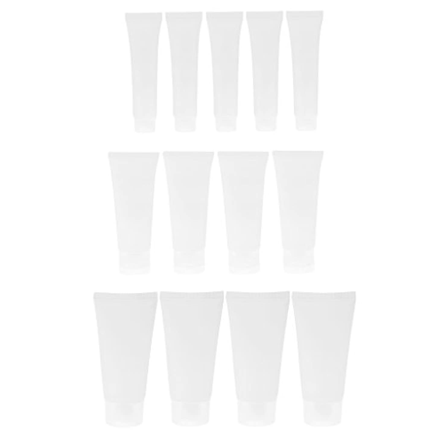 宿泊分析的苛性15個セット 15ml / 50ml / 30ml 空チューブ ハンドクリーム ローション ボトル 軽量