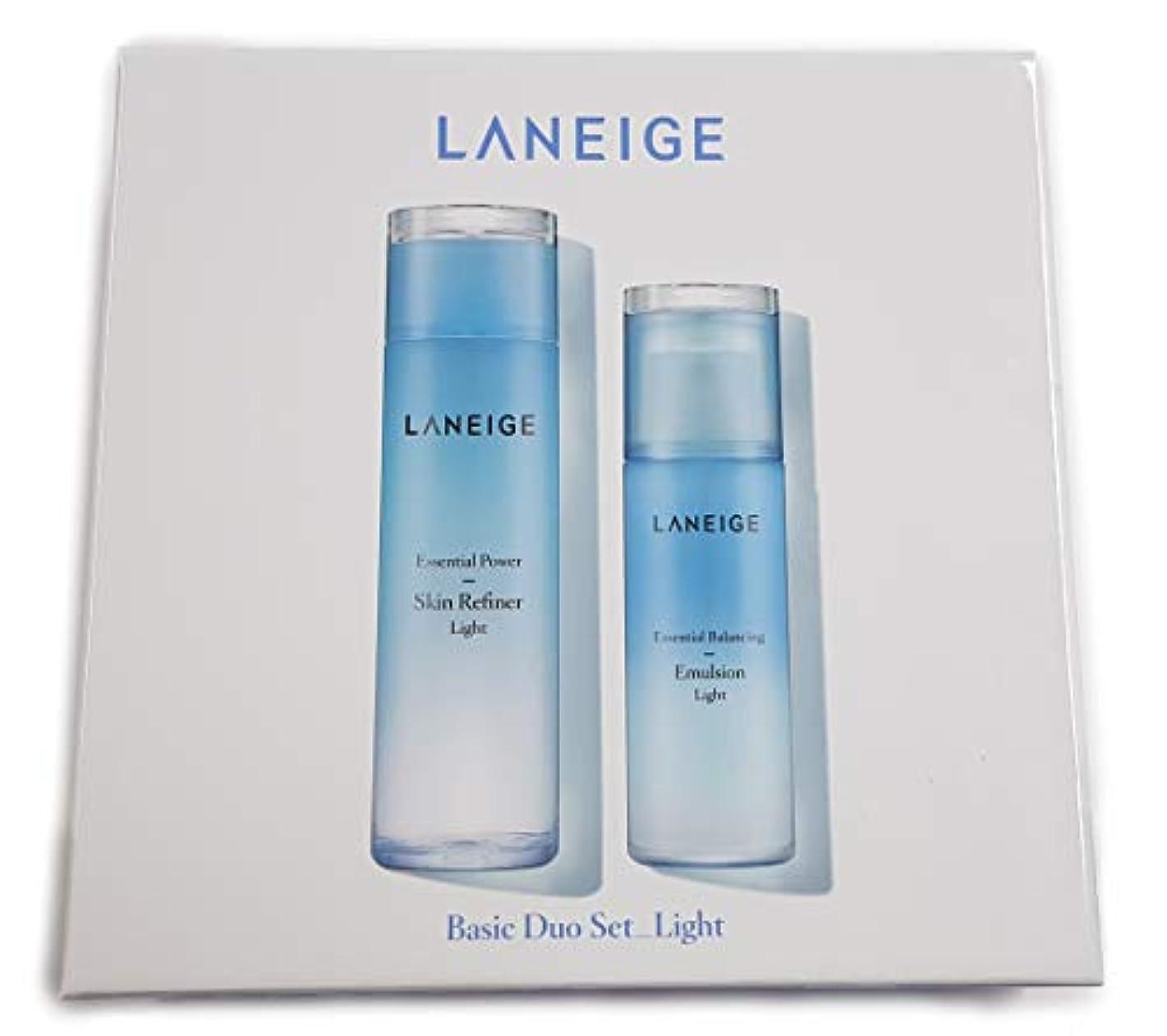 ワットスクリュー卵Laneige Basic Duo Set_Light / ベーシックデュオセットライト
