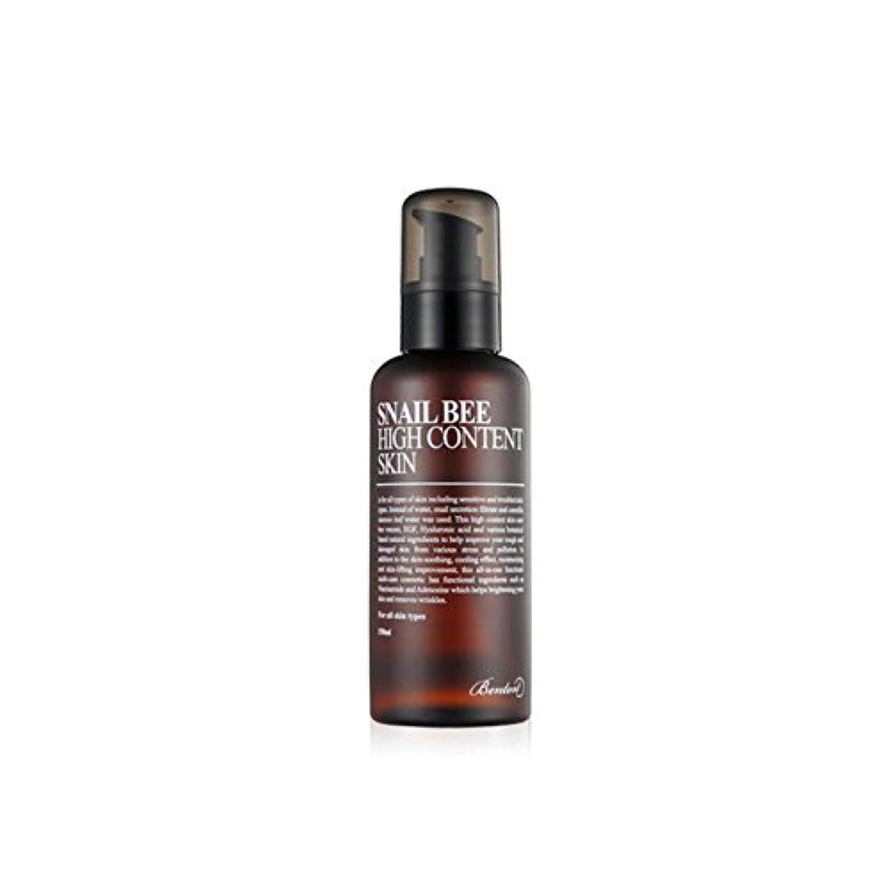 [ベントン] Benton カタツムリ蜂高含量スキントナー Snail Bee High Content Skin Toner 150ml [並行輸入品]