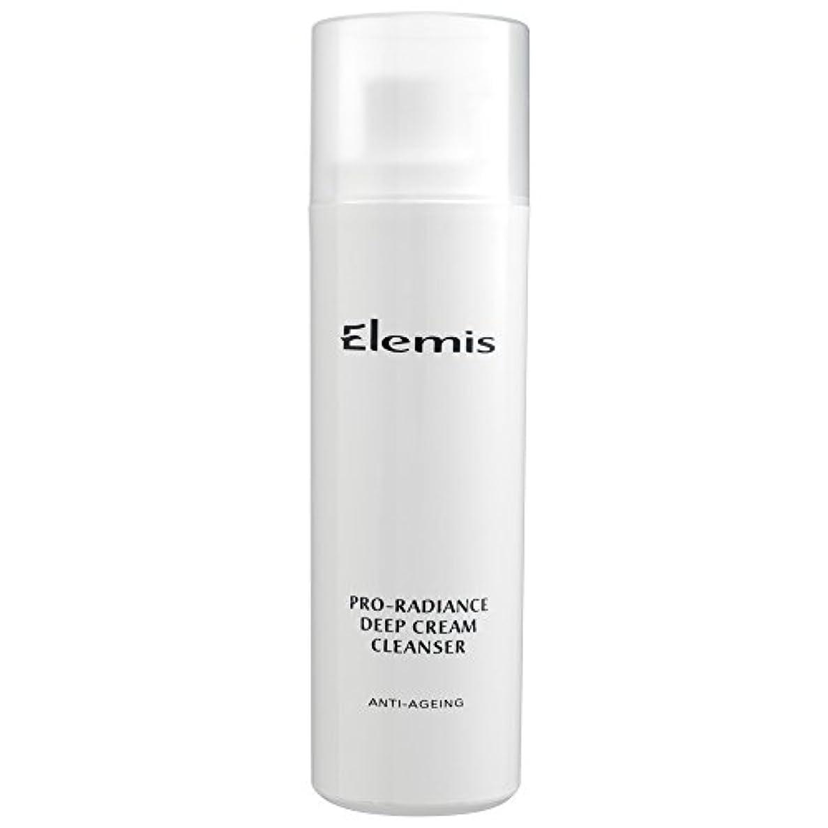 嵐のポーチお金エレミスプロ輝きクリームクレンザー、150ミリリットル (Elemis) - Elemis Pro-Radiance Cream Cleanser, 150ml [並行輸入品]