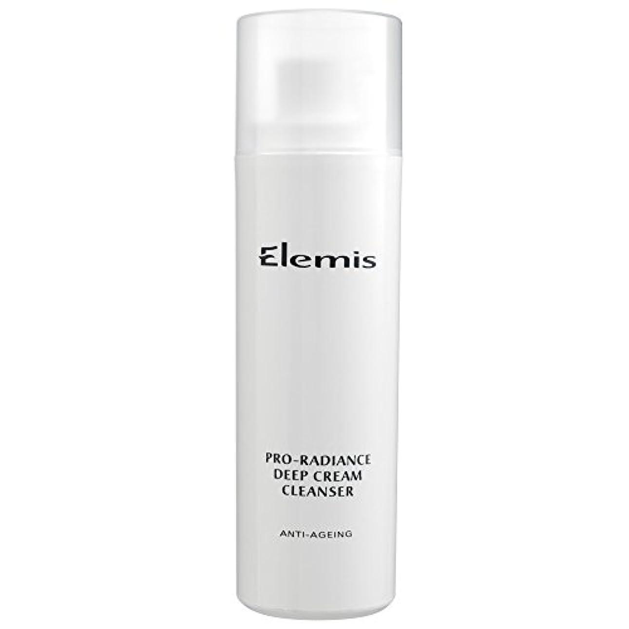 原稿繁雑ハーフエレミスプロ輝きクリームクレンザー、150ミリリットル (Elemis) - Elemis Pro-Radiance Cream Cleanser, 150ml [並行輸入品]