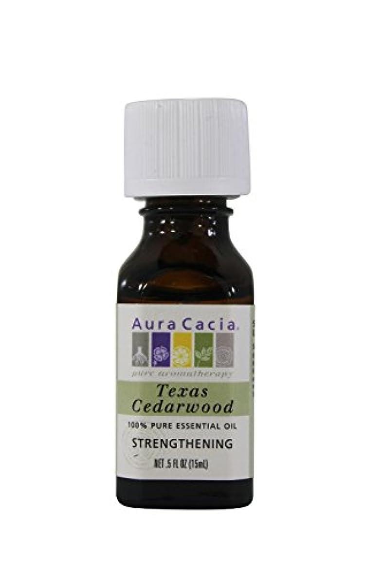 レンチ属性実現可能Aura Cacia Essential Oil Cedarwood 15 ml (並行輸入品)