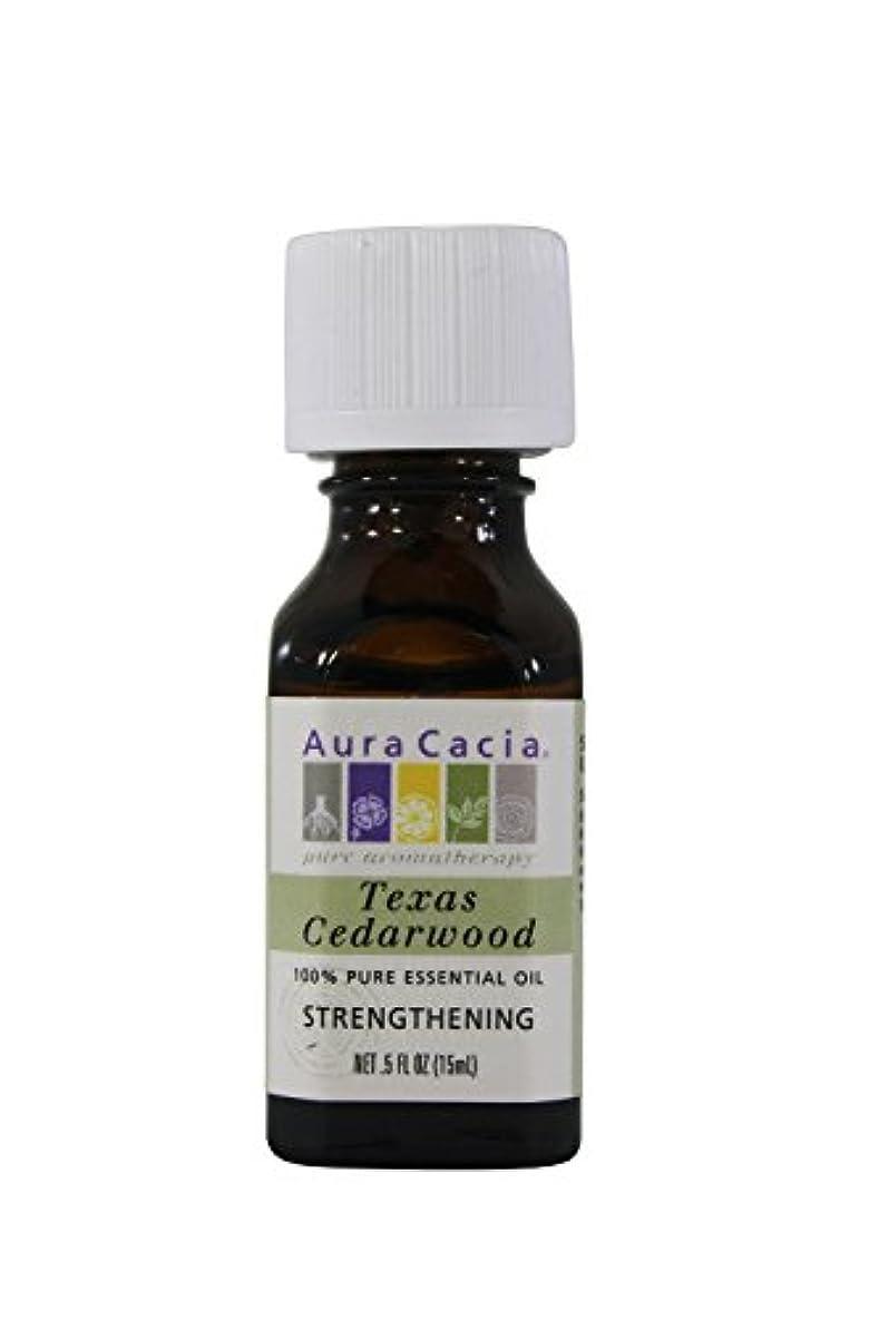 ブリーフケース抜け目がない身元Aura Cacia Essential Oil Cedarwood 15 ml (並行輸入品)