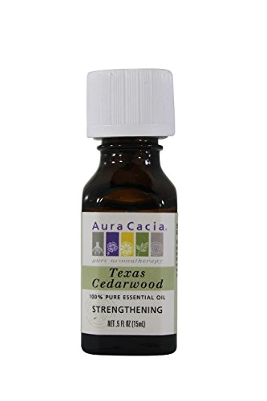 買収入場ありがたいAura Cacia Essential Oil Cedarwood 15 ml (並行輸入品)