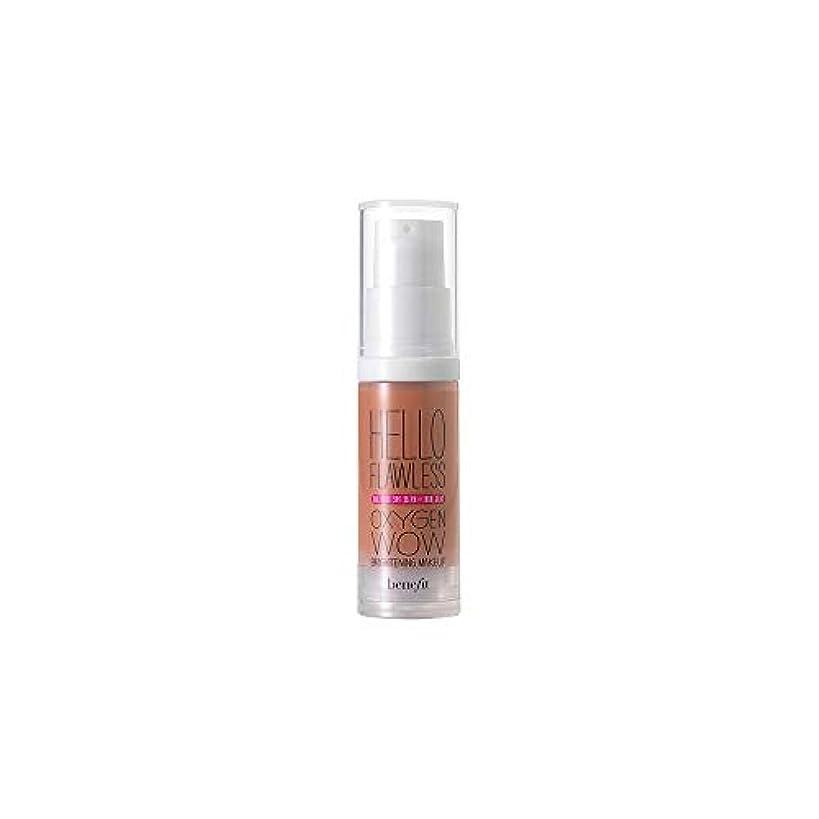 出会いごめんなさい民主主義[Benefit] 化粧Spf25 30ミリリットルのナツメグを明るくすごいハロー完璧な酸素の利益 - お奨めの私を知っています - Benefit Hello Flawless Oxygen WOW Brightening Makeup SPF25 30ml Nutmeg - Gotta Know Me [並行輸入品]
