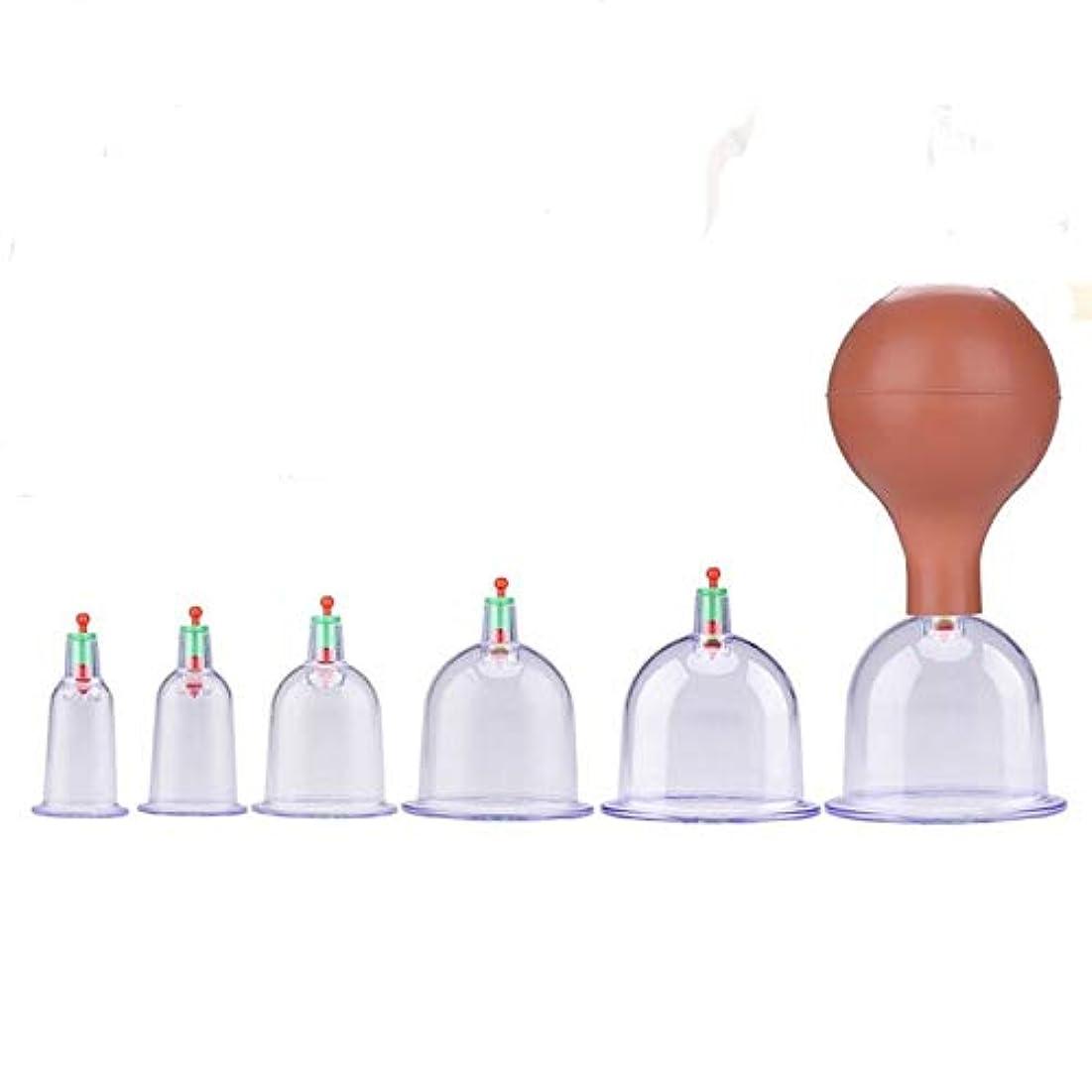 油再生可能ピーブ吸い玉カップ6種 ポンプ付き