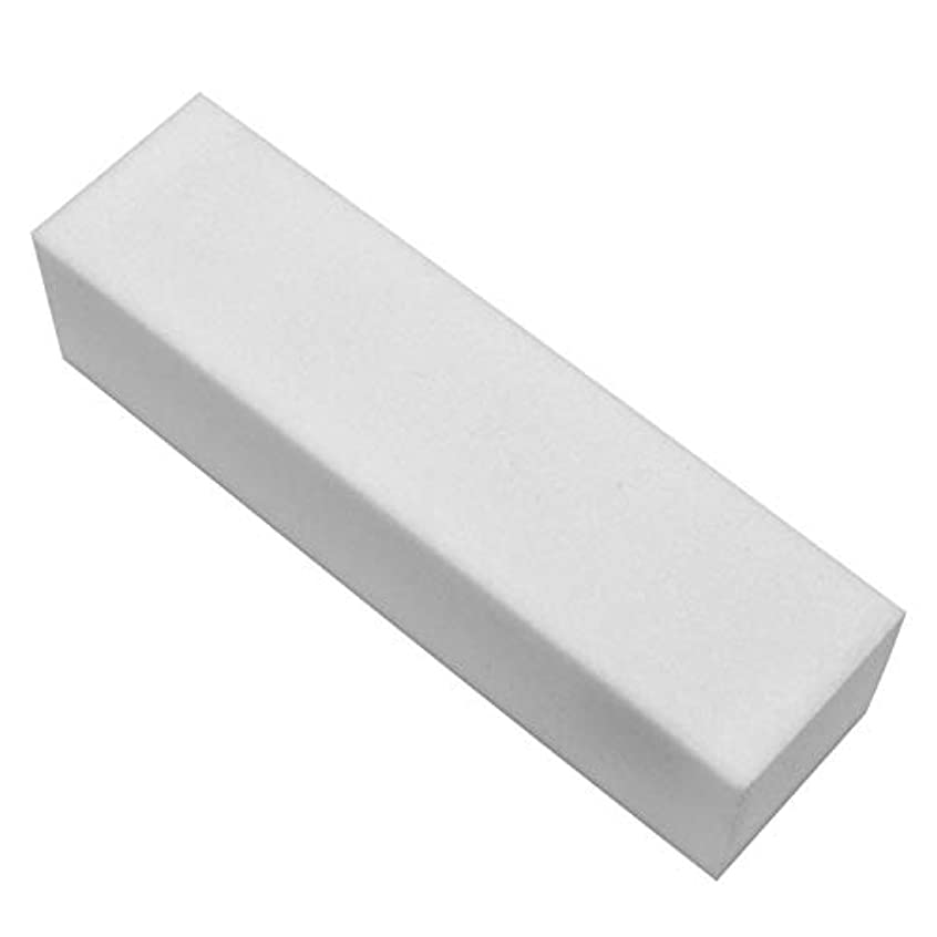 委託逮捕率直なネルパラ ホワイトブロック (ファイル) 25x25x95mm