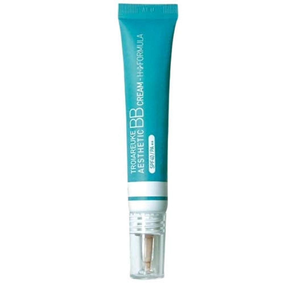 ウォーターフロント扱いやすい激しいTROIAREUKE (トロイアルケ) エステティック BB クリーム/Aesthetic BB cream (15ml) (H+ フォーミュラ) [並行輸入品]