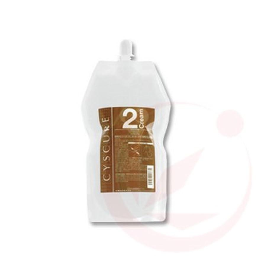 呼びかける変形する怠なタマリス シスキュア2クリーム 1000g (パーマ剤/2剤)