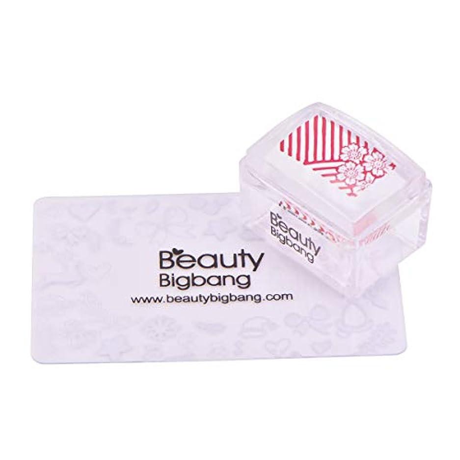 明らか私の胃BeautyBigBang スタンパーセット ネイル 透明 柔らかいシリコーンヘッド ネイルスタンプ スタンピングネイルセット
