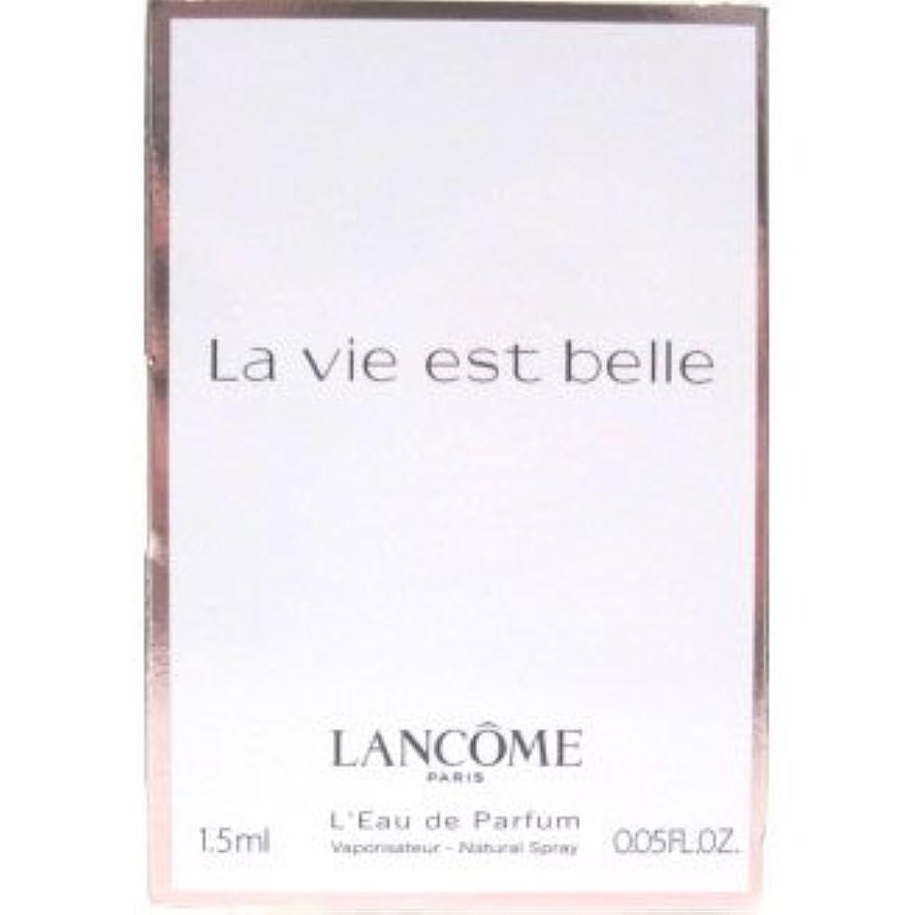 ビジュアルサーフィン果てしないランコム ラ ヴィエベル オードパルファム 1.2ml LANCOME LA VIE EST BELLE EDP [3536]
