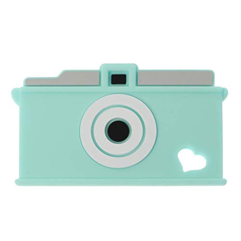 Dabixx シリコーン?テザー カメラチーターTeether 赤ちゃんの看護玩具噛むおもちゃの歯ぬいぐるみ玩具 - 緑