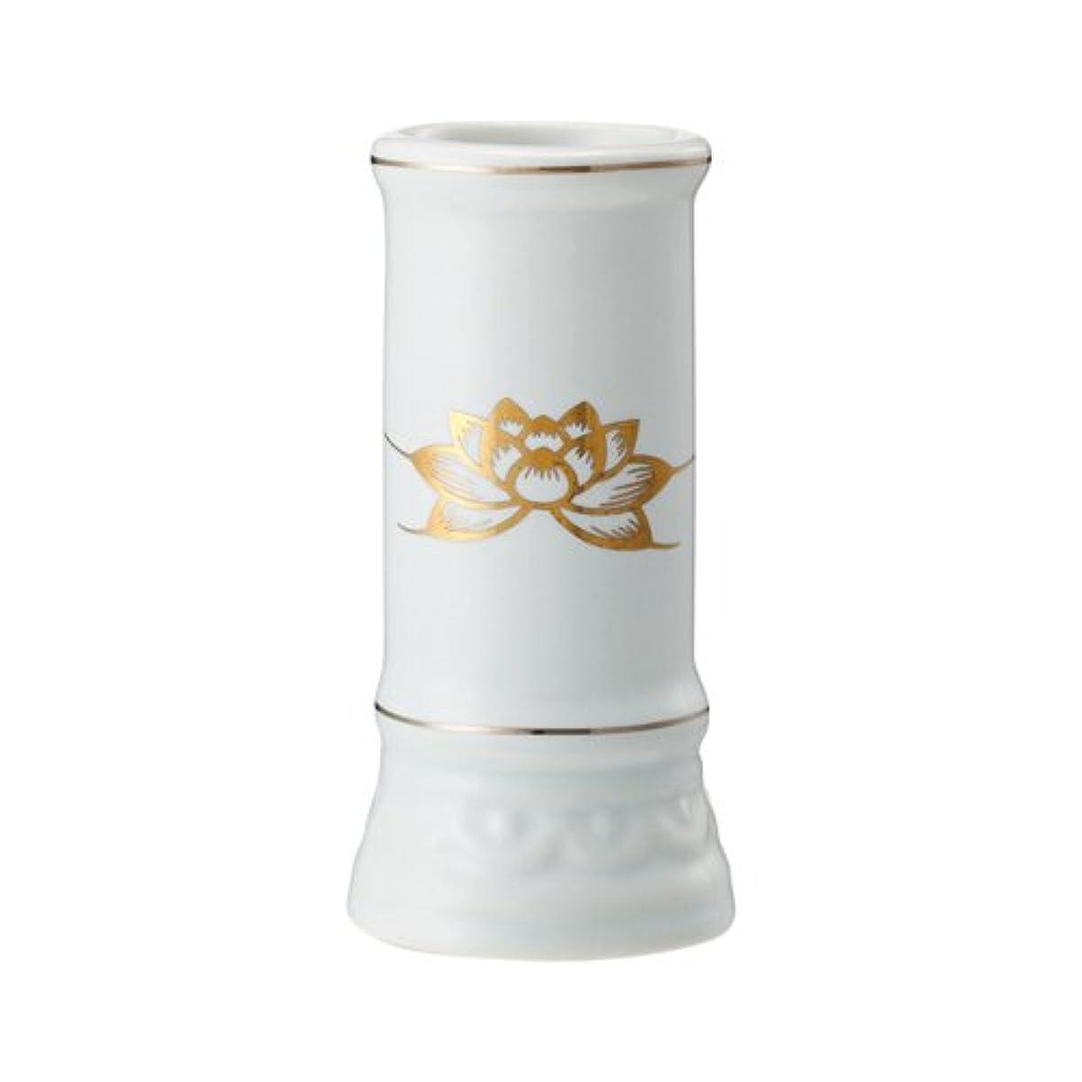 ねばねば行サークル日本香堂 線香立て ミニ陶器白磁