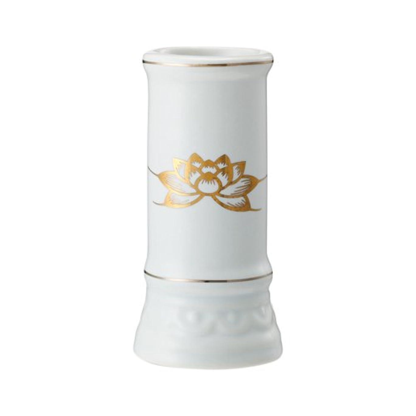 百万音楽家人道的日本香堂 線香立て ミニ陶器白磁