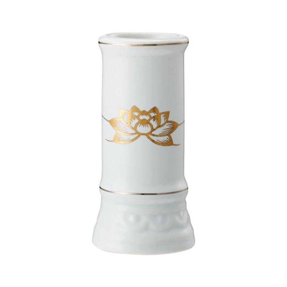 七面鳥謎めいた階層日本香堂 線香立て ミニ陶器白磁