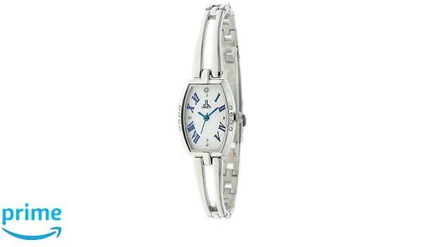 f5b8f4cb5d Amazon   [ランチェッティ]LANCETTI 腕時計 天然ダイヤモンド 三針 LT-6205S-WB レディース   国内メーカー   腕時計  通販