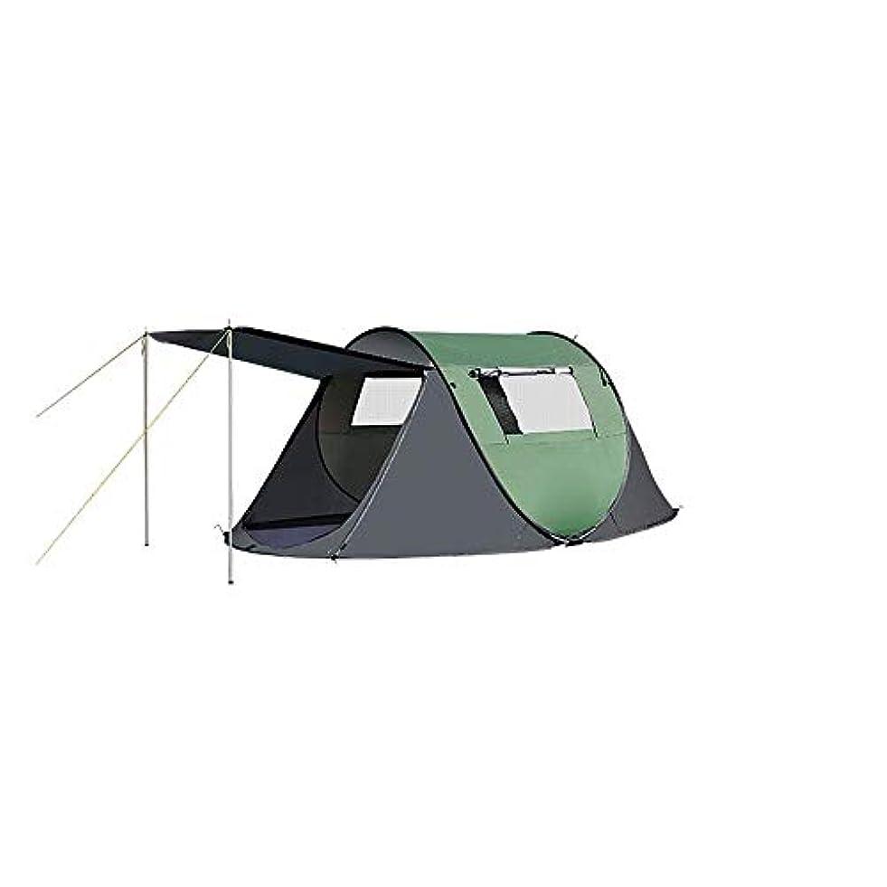 緯度シーン去るLJMYP キャンプテントバックパッキングテントキャンプギアアウトドア2人全自動シングルテントキャンプ用簡単セットアップ