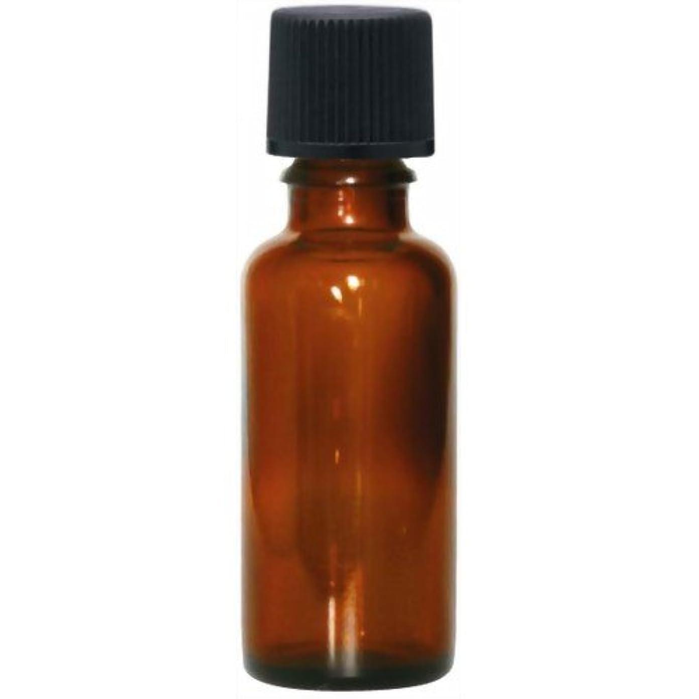 機構責める木製茶色遮光瓶30ml(黒キャップ)