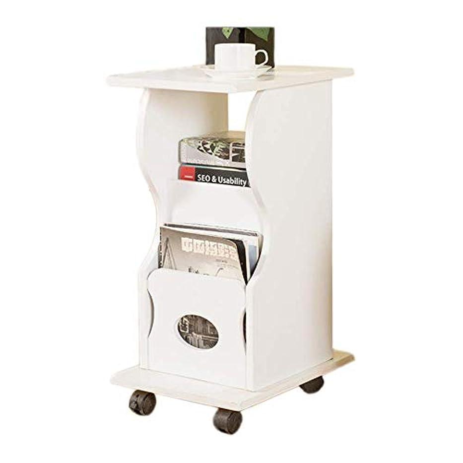 概して休日に加速度HUO ソファサイドテーブル取り外し可能なリビングルーム小さなコーヒーテーブル3層引き出しサイドキャビネット - 2色-30 * 39 * 65 cm (色 : B)
