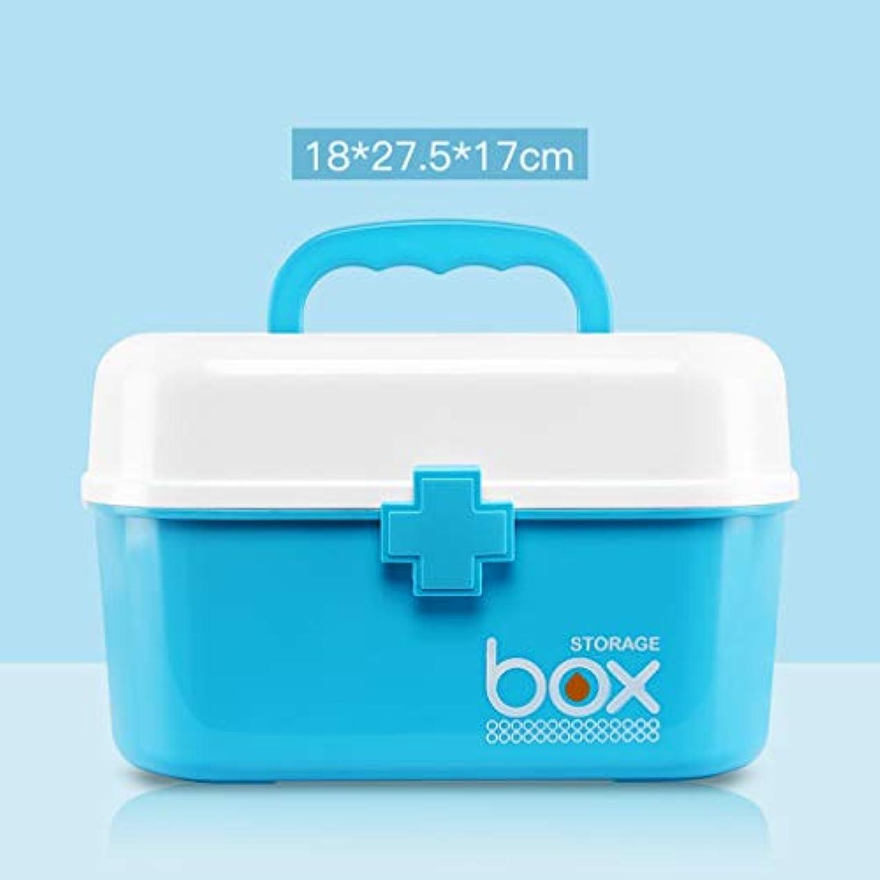 パイプライン否定する資金救急箱 薬箱 大容量 多機能 薬入れ 小物入れ 応急ボックス 医療箱 ハンドル付き 携帯 かわいい 救急ボックス 緊急 防災 応急処置 応急手当 家庭用 ツールボックス 収納ケース ピンク/ブルー/グリーン/グレー