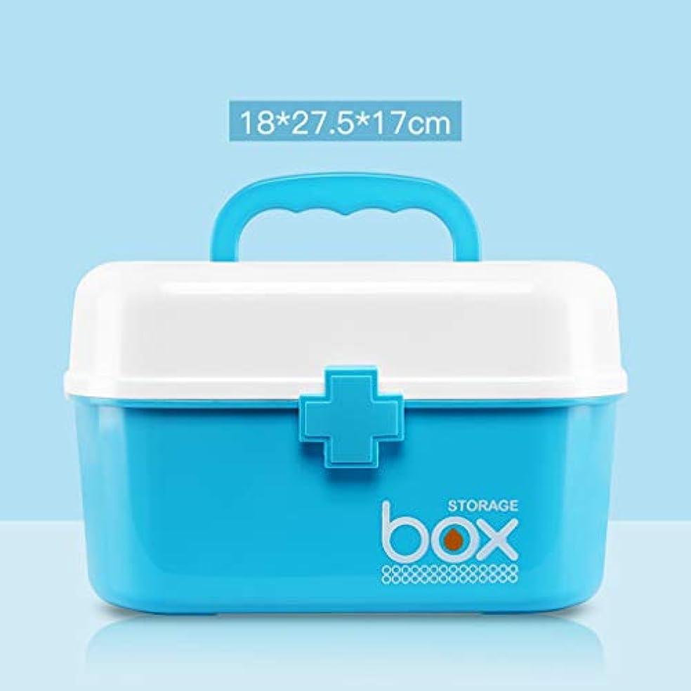 本気グリーンバック検出する救急箱 薬箱 大容量 多機能 薬入れ 小物入れ 応急ボックス 医療箱 ハンドル付き 携帯 かわいい 救急ボックス 緊急 防災 応急処置 応急手当 家庭用 ツールボックス 収納ケース ピンク/ブルー/グリーン/グレー