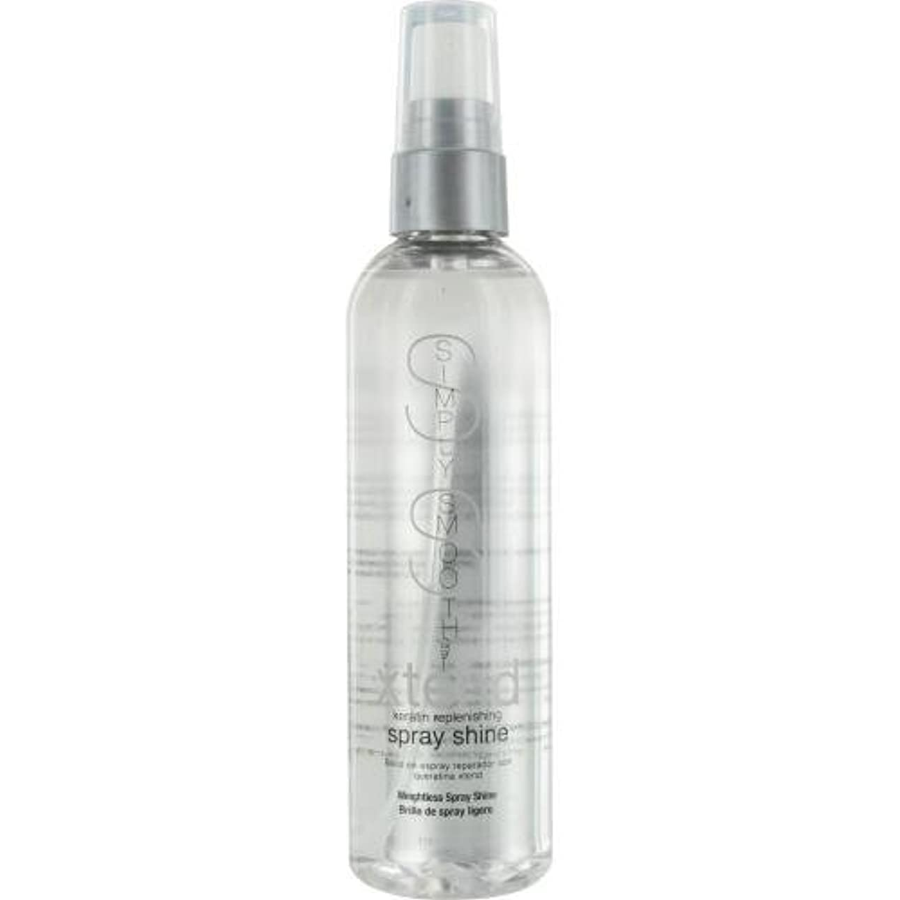 弾性バイオリン絶望的なby Simply Smooth XTEND KERATIN REPLENISHING SPRAY SHINE 4 OZ by SIMPLY SMOOTH