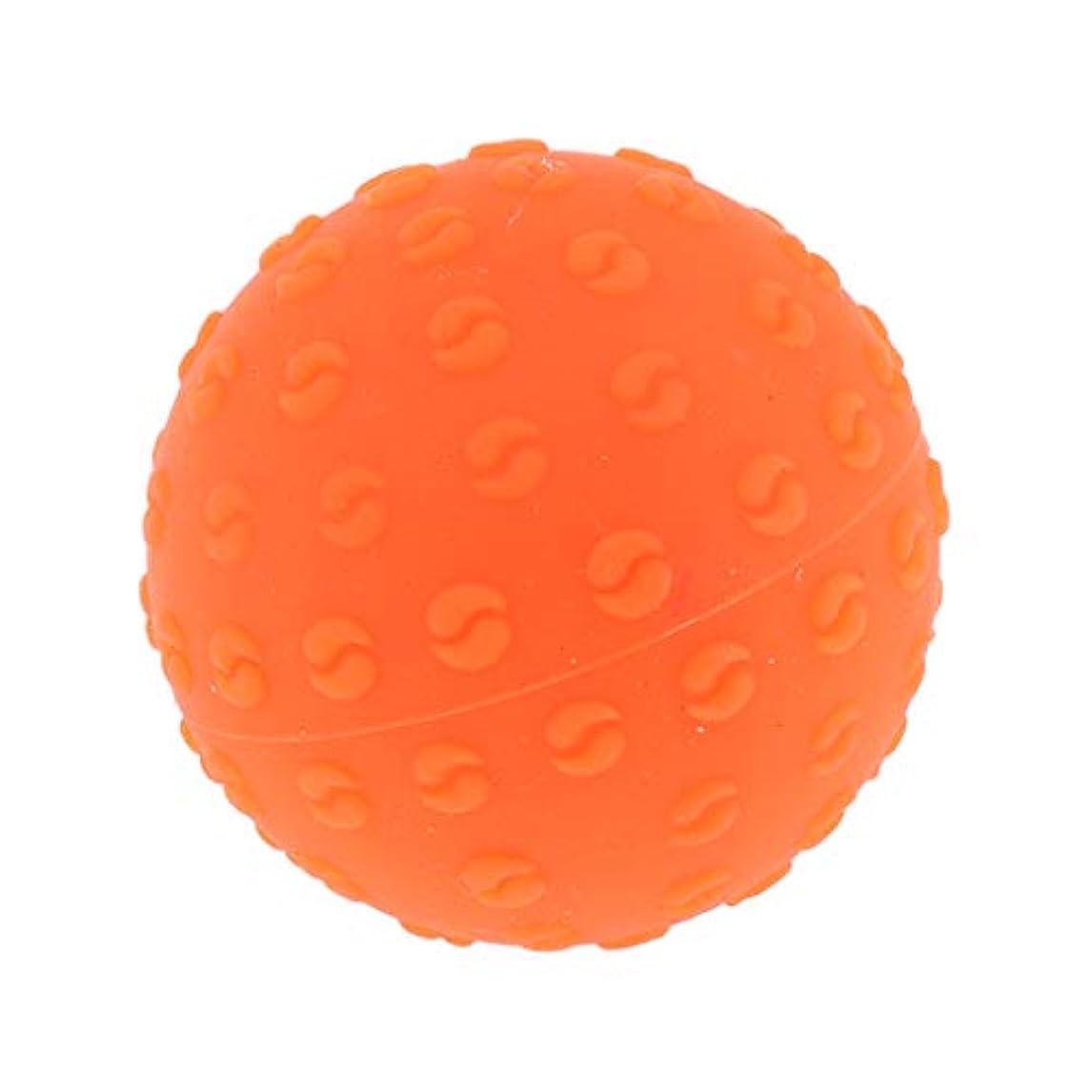 大佐殺人者マイルドPerfeclan 全6色 マッサージボール 指圧ボール シリコーン トリガーポイント 足底筋膜炎 ヨガ 耐油性 快適 - オレンジ, 説明のとおり