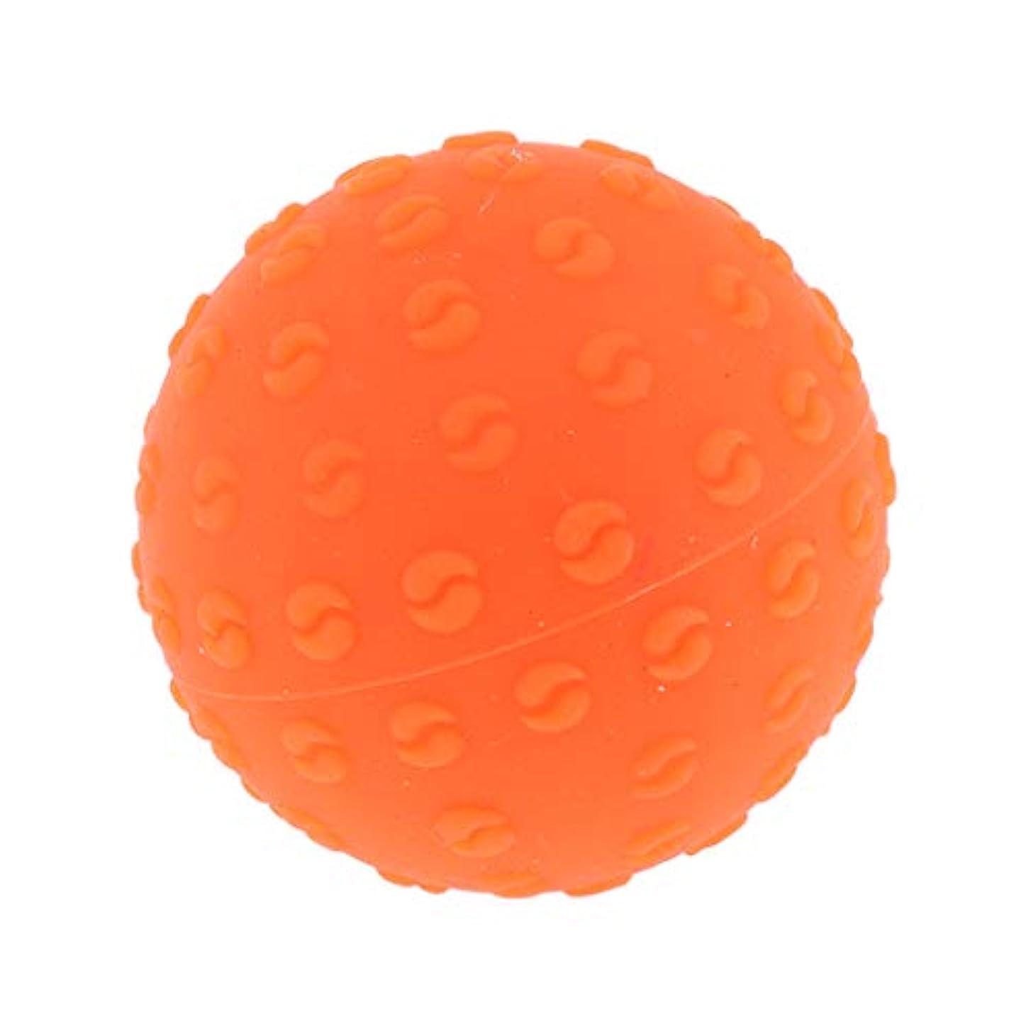長くするピル尊厳FLAMEER 全6色 シリコーンマッサージボール 指圧ボール トリガーポイント ヨガ 肩、足、首、腕 解消 耐摩耗 - オレンジ, 説明のとおり