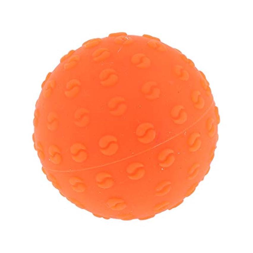 忌避剤穏やかな王朝FLAMEER 全6色 シリコーンマッサージボール 指圧ボール トリガーポイント ヨガ 肩、足、首、腕 解消 耐摩耗 - オレンジ, 説明のとおり