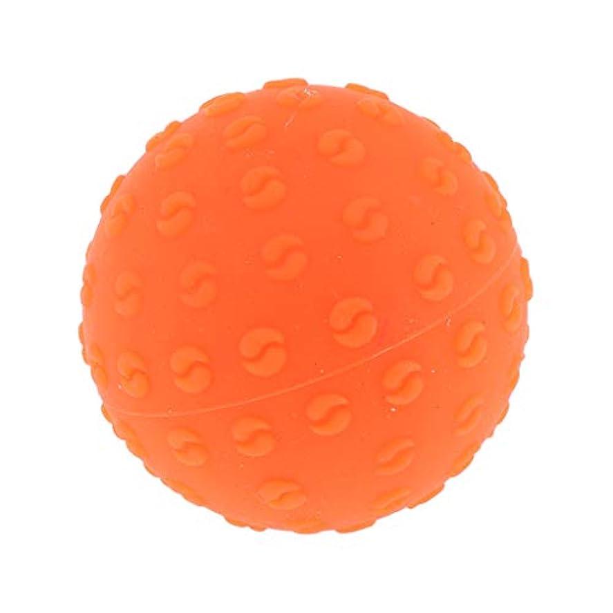 丁寧海嶺グレートオークPerfeclan 全6色 マッサージボール 指圧ボール シリコーン トリガーポイント 足底筋膜炎 ヨガ 耐油性 快適 - オレンジ, 説明のとおり
