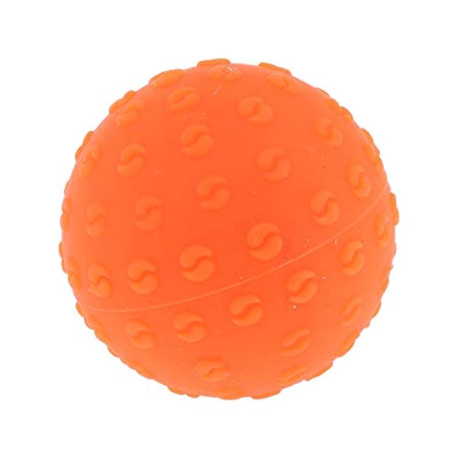 シネウィスタック打ち上げるPerfeclan 全6色 マッサージボール 指圧ボール シリコーン トリガーポイント 足底筋膜炎 ヨガ 耐油性 快適 - オレンジ, 説明のとおり