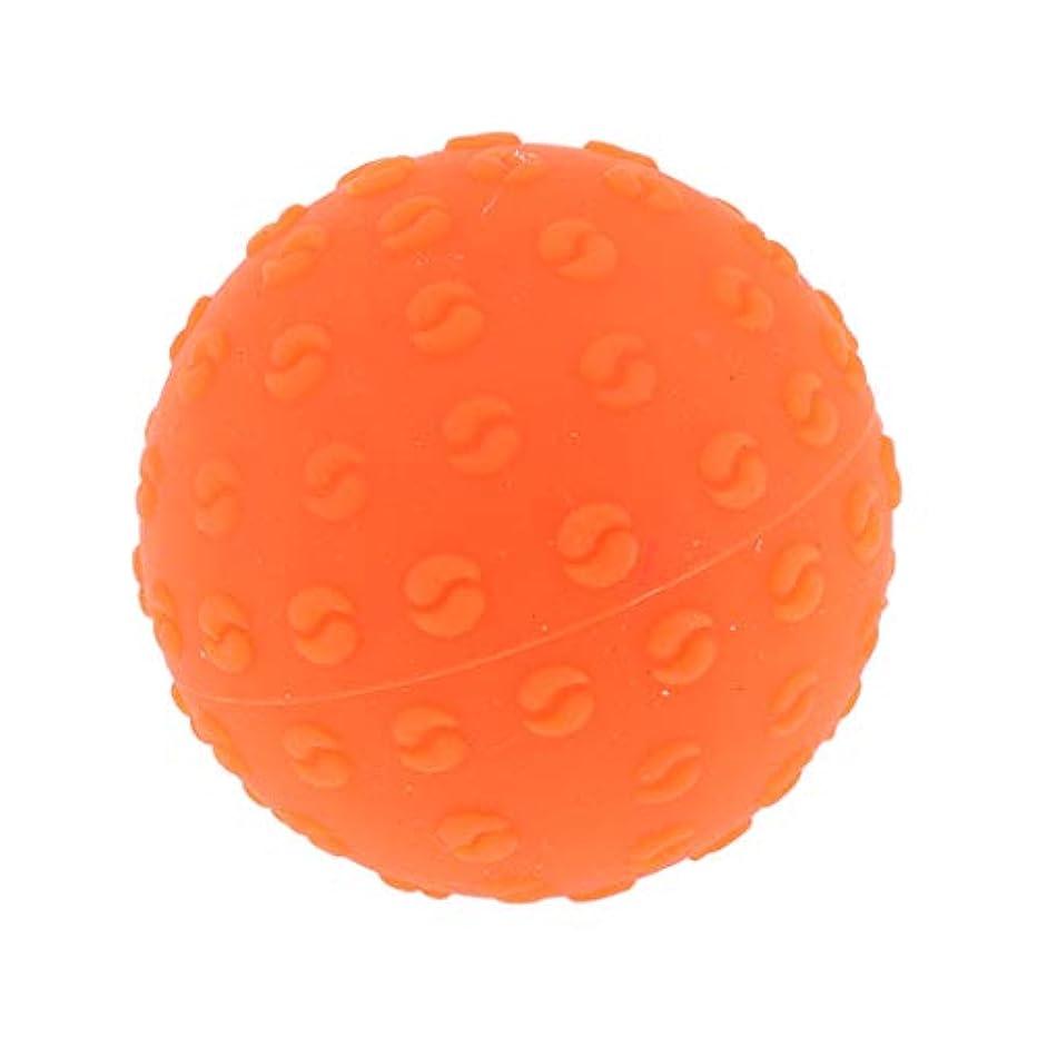 アラブサラボ丈夫再生可能Perfeclan 全6色 マッサージボール 指圧ボール シリコーン トリガーポイント 足底筋膜炎 ヨガ 耐油性 快適 - オレンジ, 説明のとおり