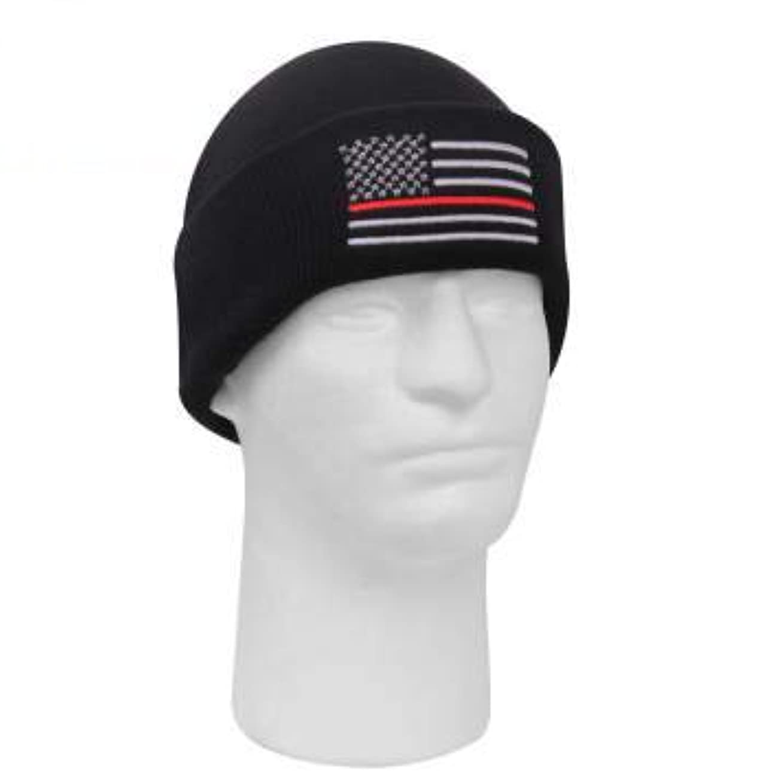マッサージアルコーブスモッグROTHCO / ロスコ 5433 Deluxe Thin Red Line Watch Cap 帽子 キャップ / ニット