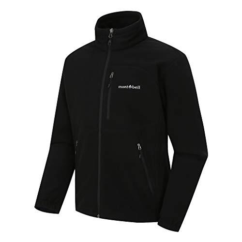 [モンベル] Mont-bell Men`s DOWNY Ⅱ jacket メンズフリースジャケット (並行輸入品)(Black, 110(2XL))