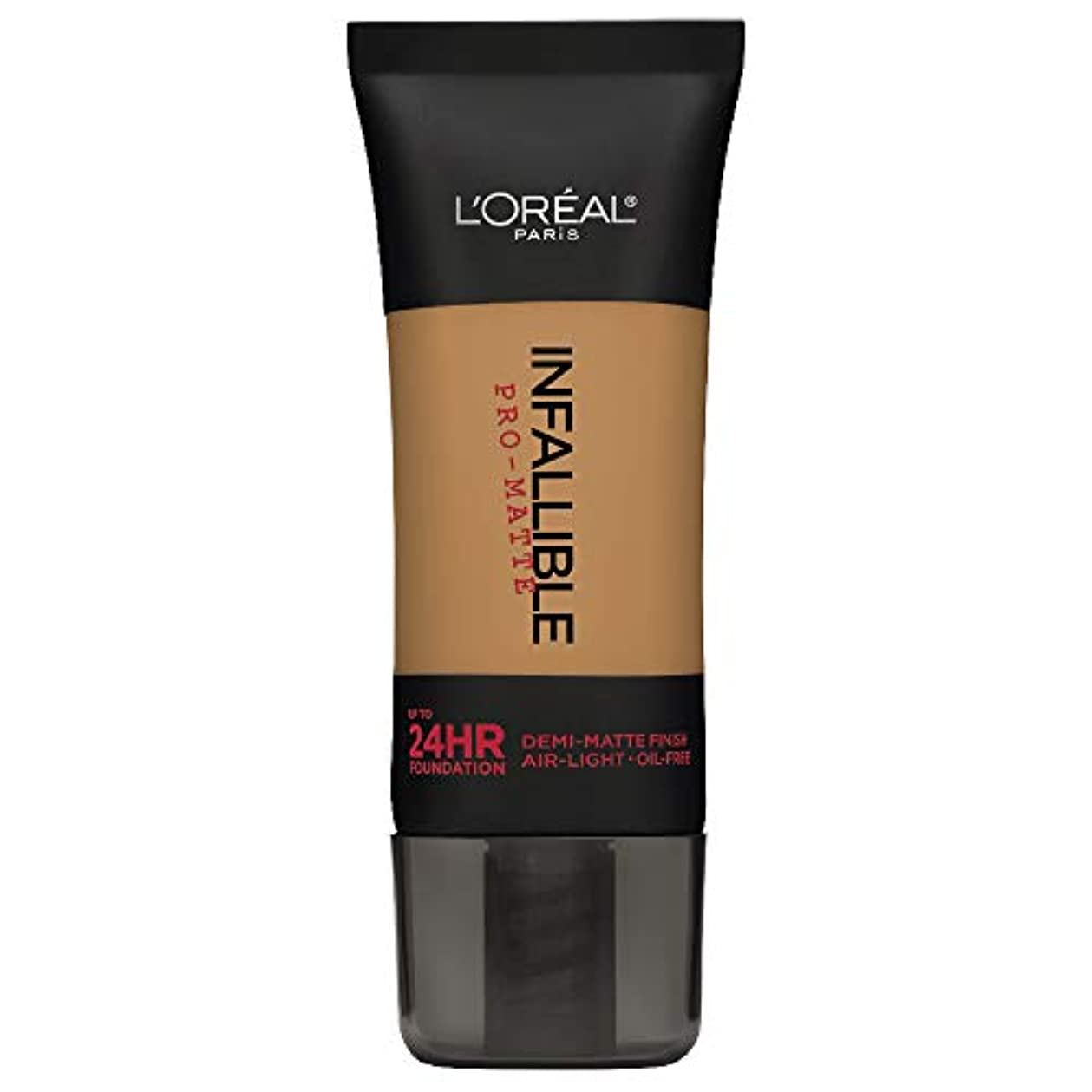 夜明け骨折将来のL'Oreal Paris Infallible Pro-Matte Foundation Makeup, 108 Caramel Beige, 1 fl. oz[並行輸入品]