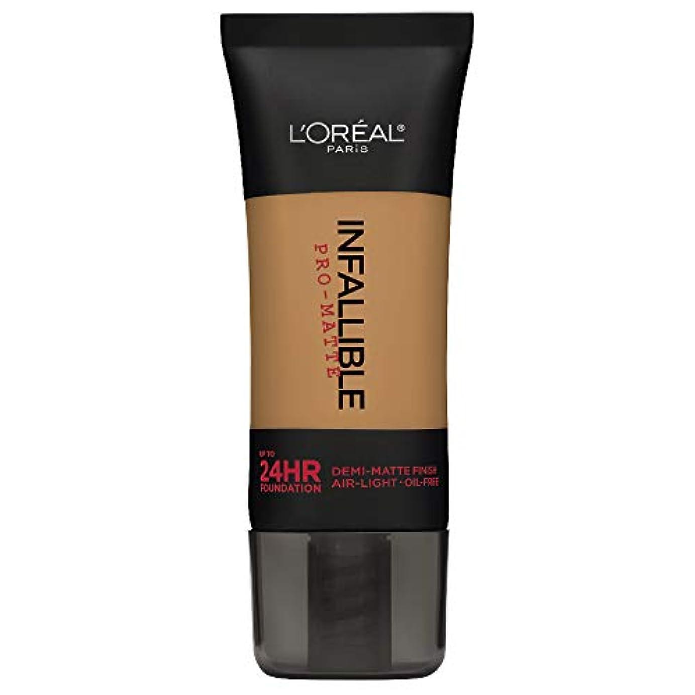 全能削除するクリーナーL'Oreal Paris Infallible Pro-Matte Foundation Makeup, 108 Caramel Beige, 1 fl. oz[並行輸入品]