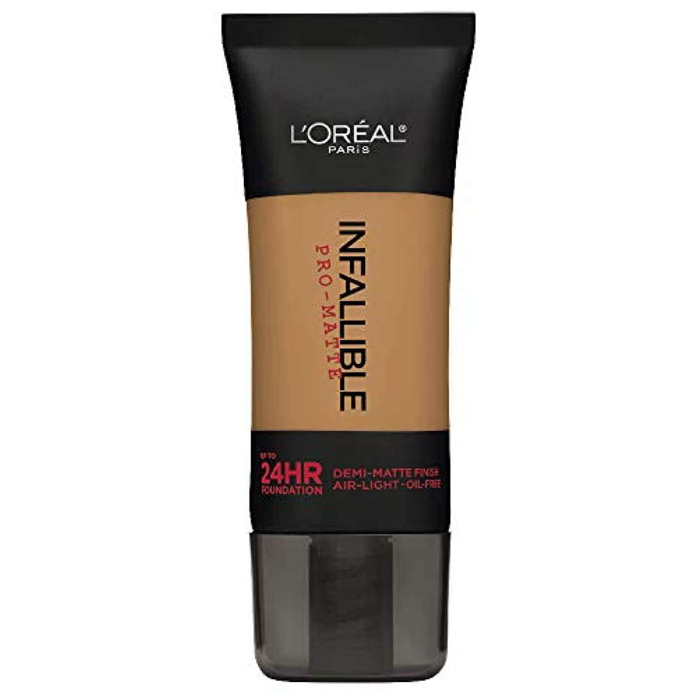 ナイトスポット本を読むペンフレンドL'Oreal Paris Infallible Pro-Matte Foundation Makeup, 108 Caramel Beige, 1 fl. oz[並行輸入品]