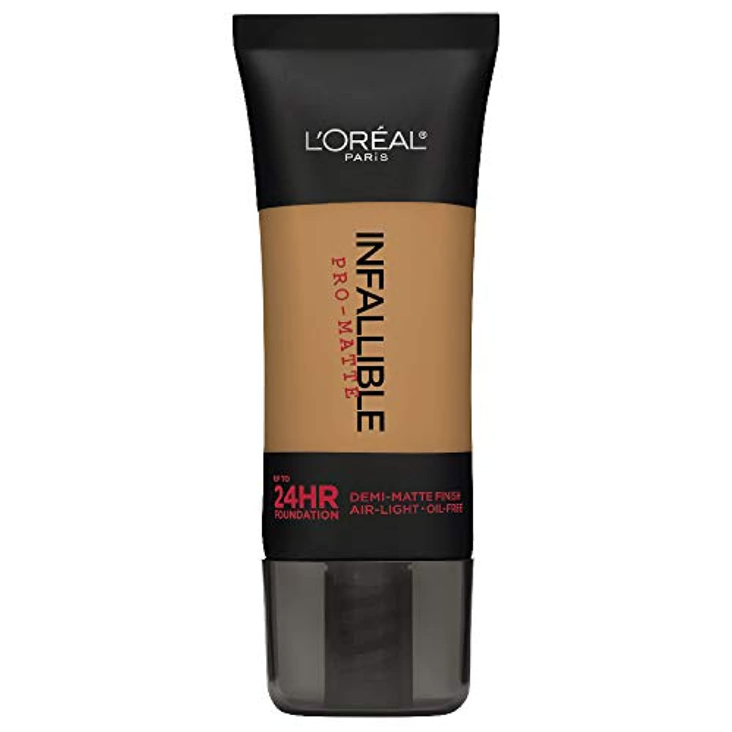 ブロッサムフェードアウト辛いL'Oreal Paris Infallible Pro-Matte Foundation Makeup, 108 Caramel Beige, 1 fl. oz[並行輸入品]