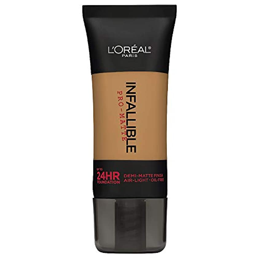 L'Oreal Paris Infallible Pro-Matte Foundation Makeup, 108 Caramel Beige, 1 fl. oz[並行輸入品]
