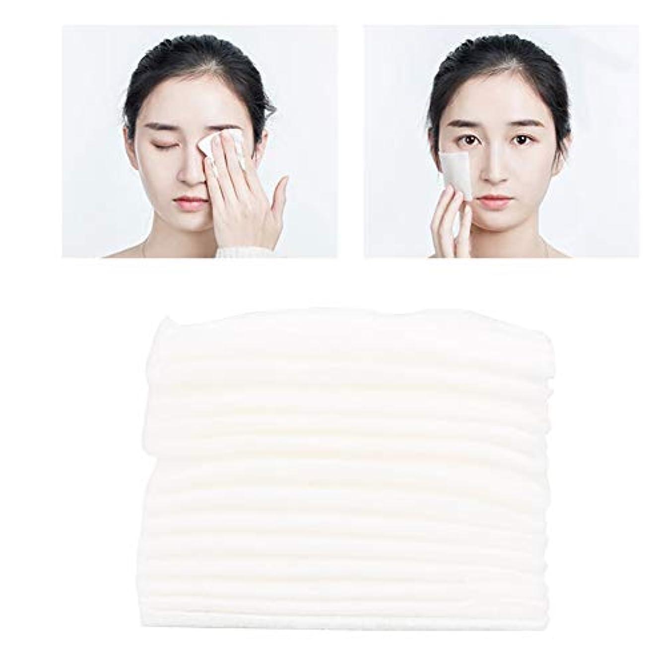 ゴム完璧な分数222個/バッグ化粧コットンパッドリムーバー化粧道具クレンジングワイプスキンケア