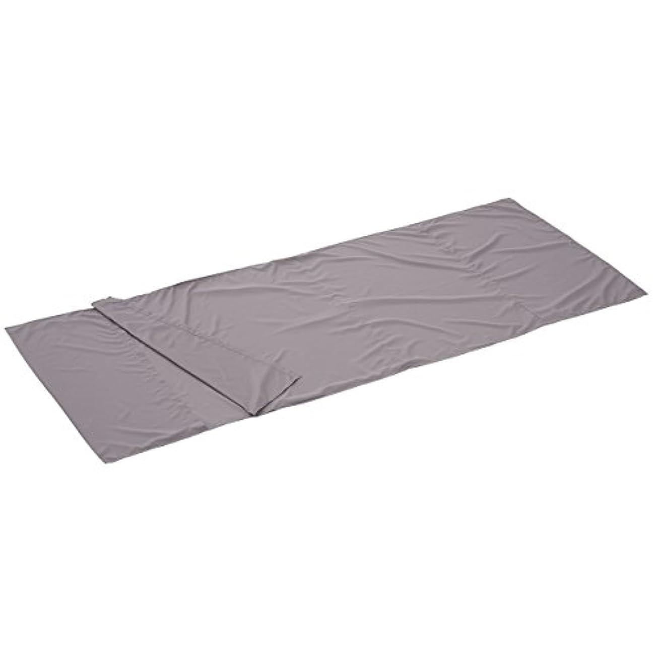 ボイラー無視するランドリーロゴス 寝袋 シルキーインナーシュラフ