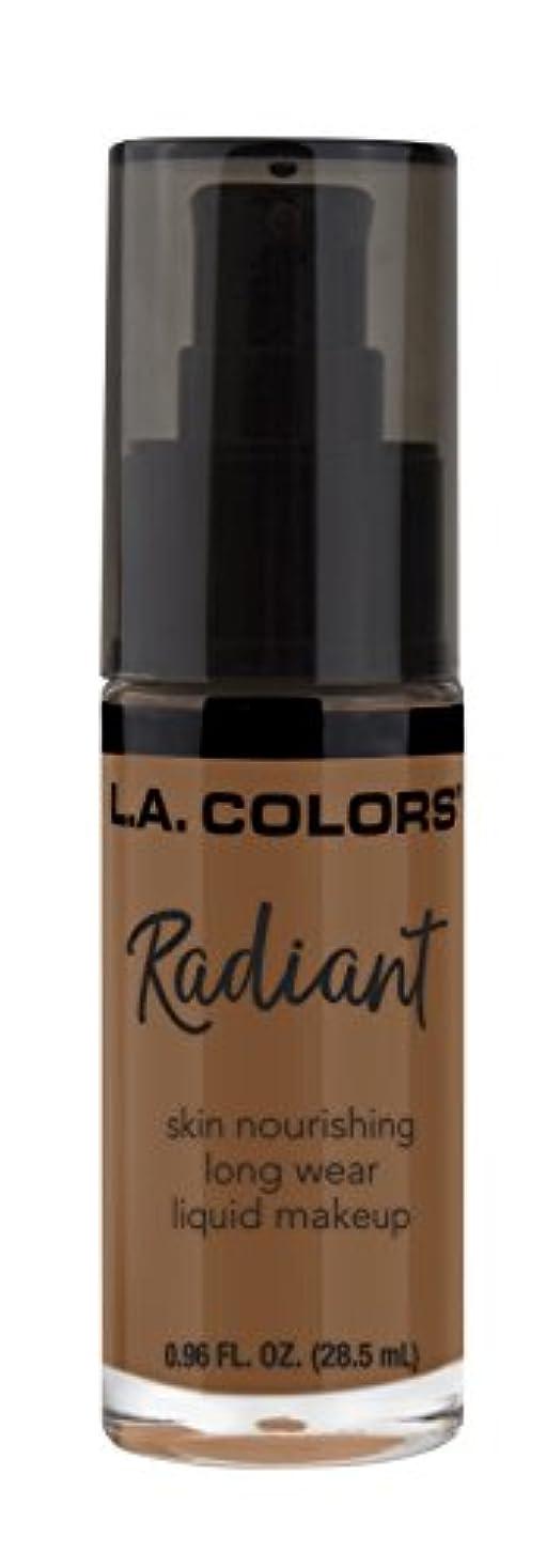縮約明るいアクセルL.A. COLORS Radiant Liquid Makeup - Ginger (並行輸入品)
