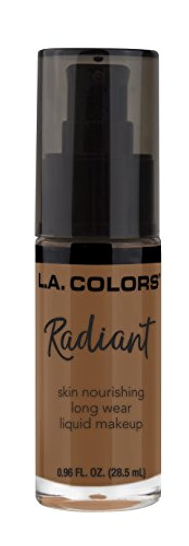 く囲い若さL.A. COLORS Radiant Liquid Makeup - Ginger (並行輸入品)