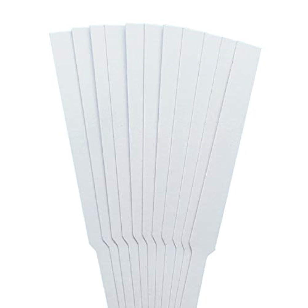 組予見する擬人ストリップテスト migavann テストストリップ 香りのアロマセラピーエッセンシャルオイルをテストするための100個の130×12ミリメートルの香水試験紙ストリップ