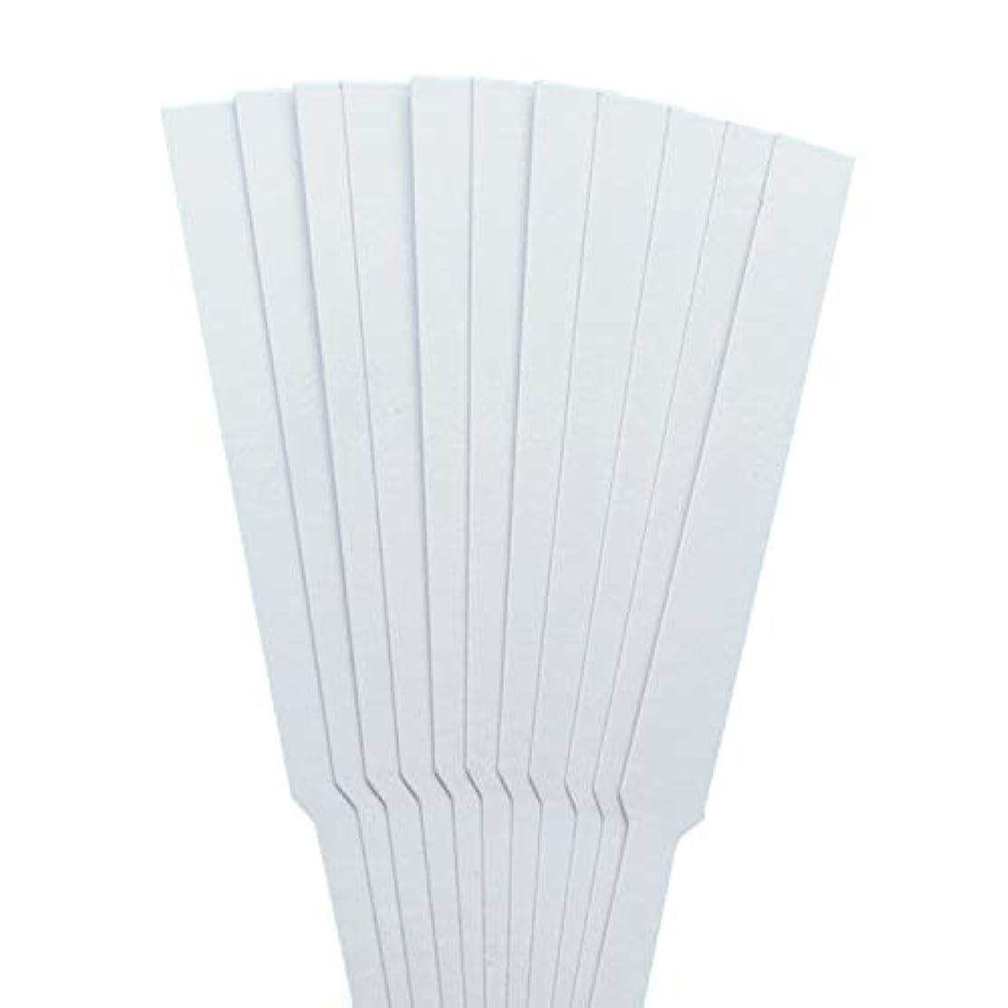 プロフィールセクタ楽しむストリップテスト migavann テストストリップ 香りのアロマセラピーエッセンシャルオイルをテストするための100個の130×12ミリメートルの香水試験紙ストリップ
