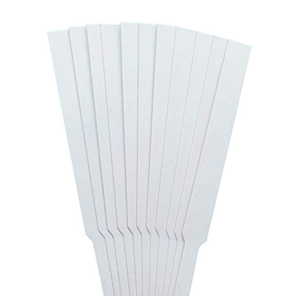 アブストラクトを必要としています骨ストリップテスト migavann テストストリップ 香りのアロマセラピーエッセンシャルオイルをテストするための100個の130×12ミリメートルの香水試験紙ストリップ