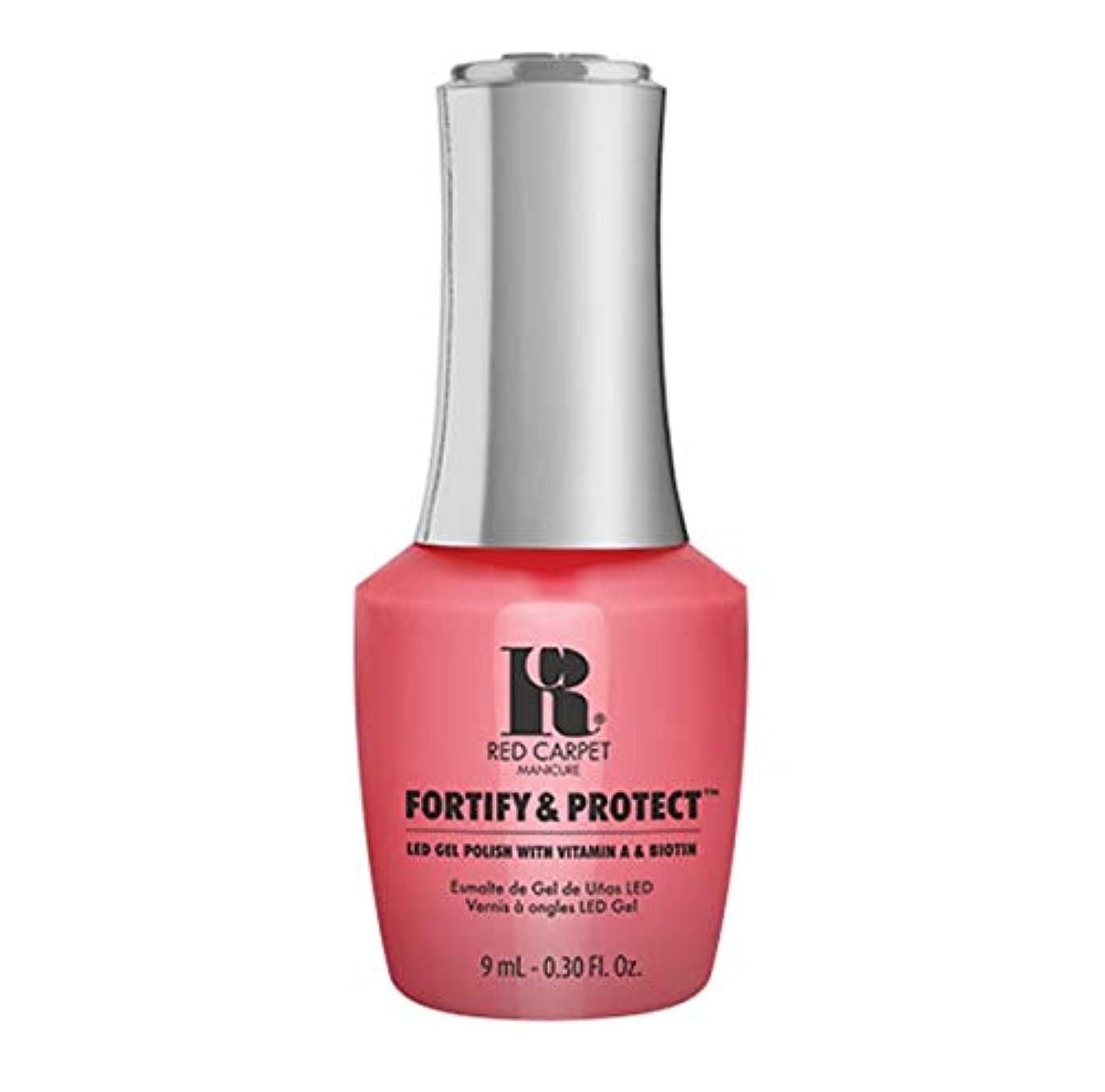 司法フレッシュ兵隊Red Carpet Manicure - Fortify & Protect - On Set Antics - 9ml / 0.30oz