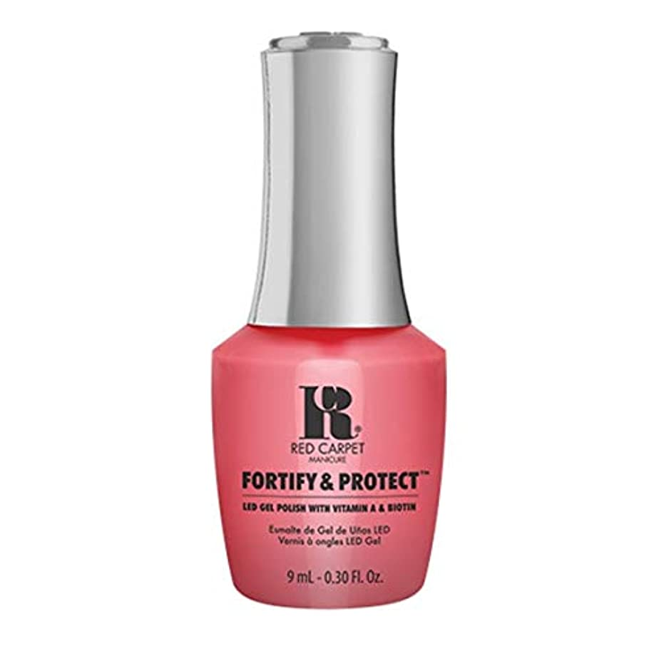 許可ペルメル増幅Red Carpet Manicure - Fortify & Protect - On Set Antics - 9ml / 0.30oz
