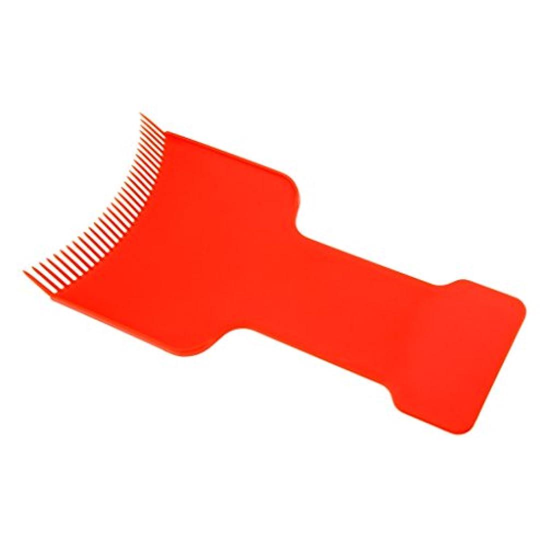 鋸歯状スポーツをする共同選択ヘアカラーボード 染色ボード ヘアカラー ボード ヘアダイコーム プロ サロン 美容院 自宅用 便利