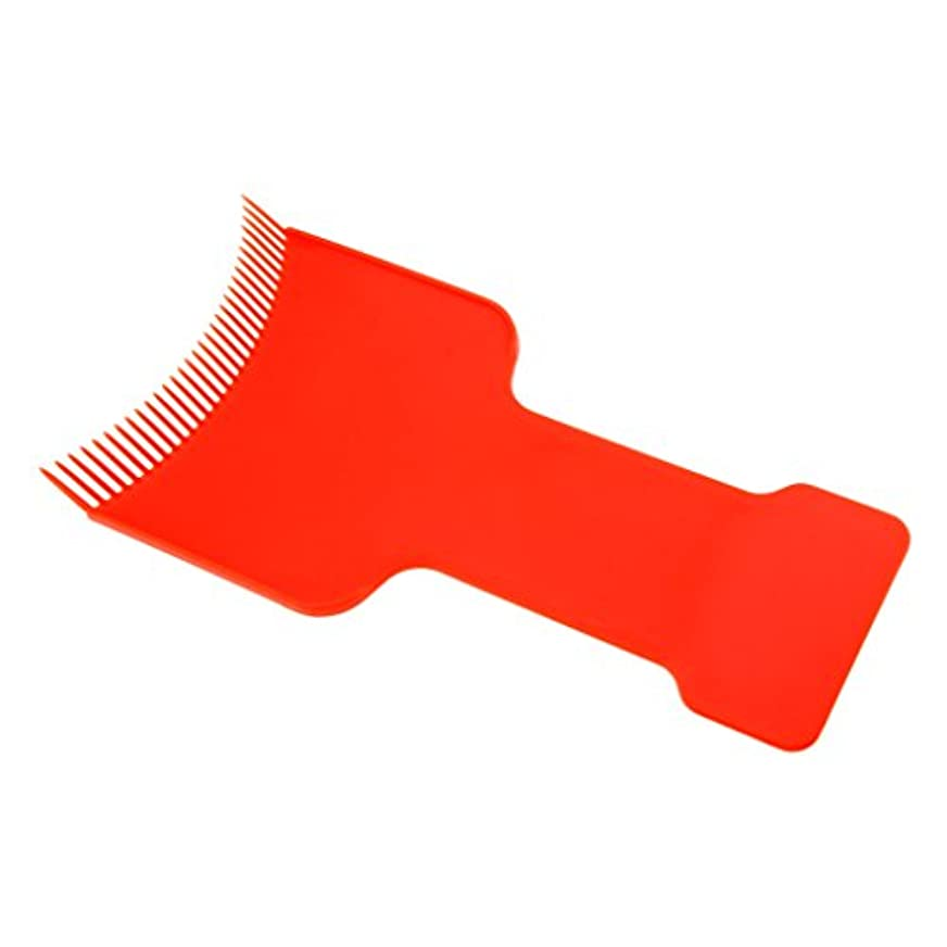 分数スーツケースファーム染色ボード ヘアカラーボード ヘアダイコーム ヘアダイブラシ 髪染め ツール 清掃 簡単